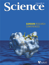 Science journal front cover