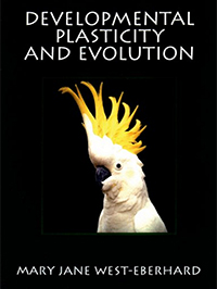 Developmental plasticity and evolution front cover
