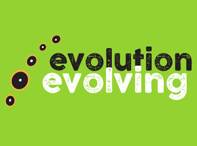 Evolution Evolving conference logo