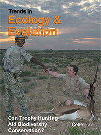 Trends in Ecology and Evolution front cover