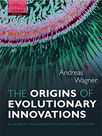 The origins of evolutionary innovations book cover