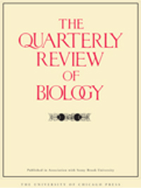 Quarterly review of biology front cover