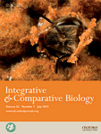 Integrative and comparative biology front cover