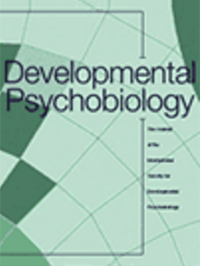 Developmental Psychobiology front cover