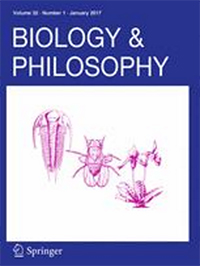 Biology and Philosophy front cover