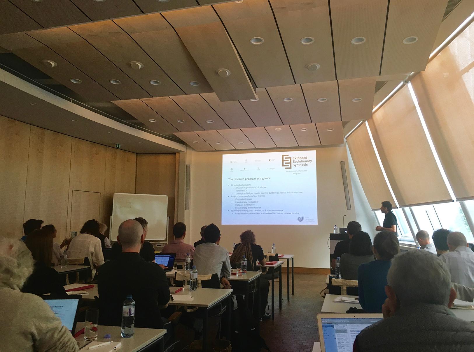 Tobias Uller's presentation
