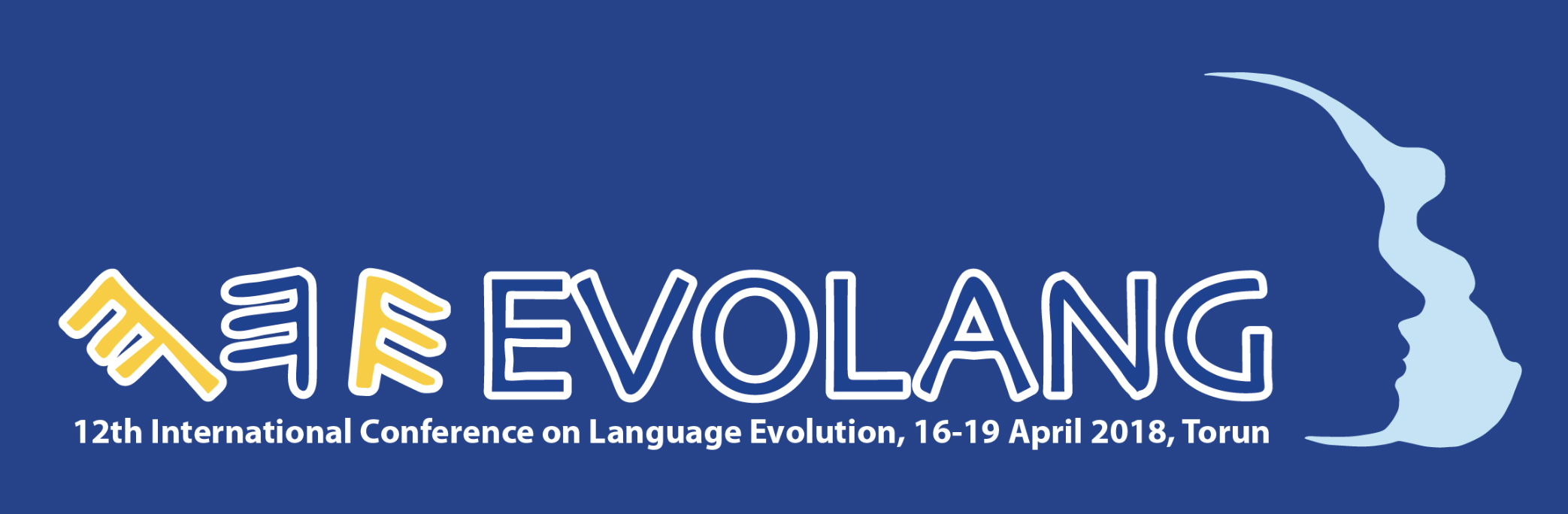 Evolang conference logo